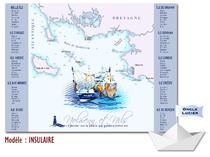 Plan de table - iles bretonnes