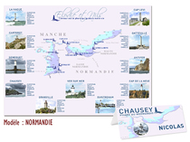 Plan de table - Normandie