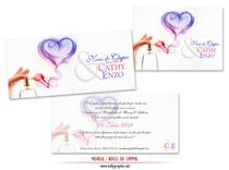 Invitation Noces de Chypre 6 ans de Mariage
