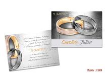Invitation Noces d'Etain 10 ans de Mariage