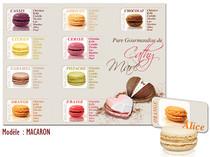 Plan de table - Macarons