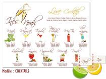 Plan de table - Cocktails