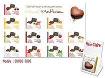 Plan de table - Chocolat