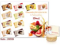 Plan de table - Desserts