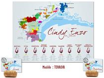 Plan de table - Vin du Terroir