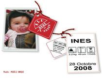 Faire-part Naissance - Bébé de l'année
