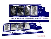 Faire-part Naissance - Echographie